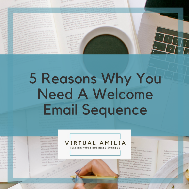 5 Reasons Why You Need A Welcome Email Sequence