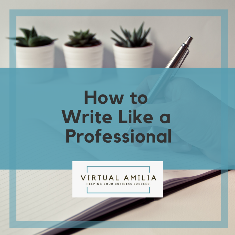 5 Tips to Write Like A Professional